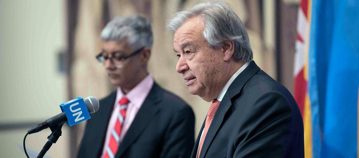 رائٹر صحافیوں کی رہائی کے لئے اقوام متحدہ کے سربراہ کا دباؤ