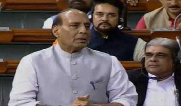 اسی سیشن میں ایس سی / ایس ٹی سے منسلک بل پاس کرانے راج ناتھ سنگھ کا اعلان