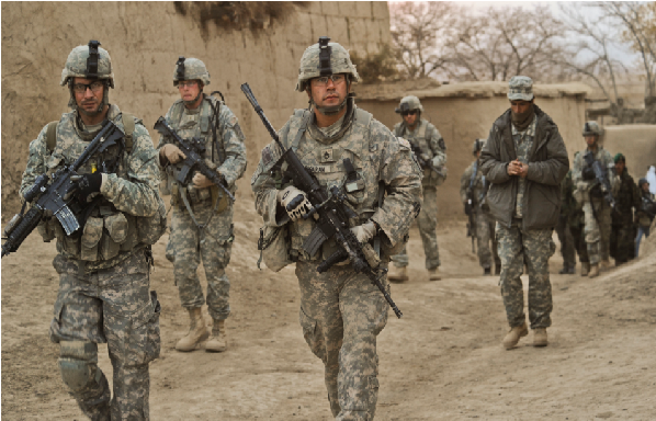 تین ہزار امریکی فوجیوں کی افغانستان میں آمد