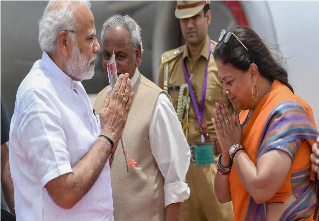 دو روزہ دورے پر راجستھان پہنچے وزیر اعظم نریندر مودی