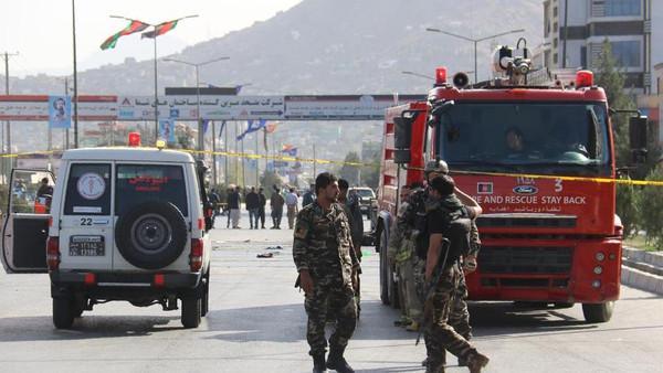 افغانستان میں خود کش دھماکا ، 45 افراد ہلاک اور زخمی