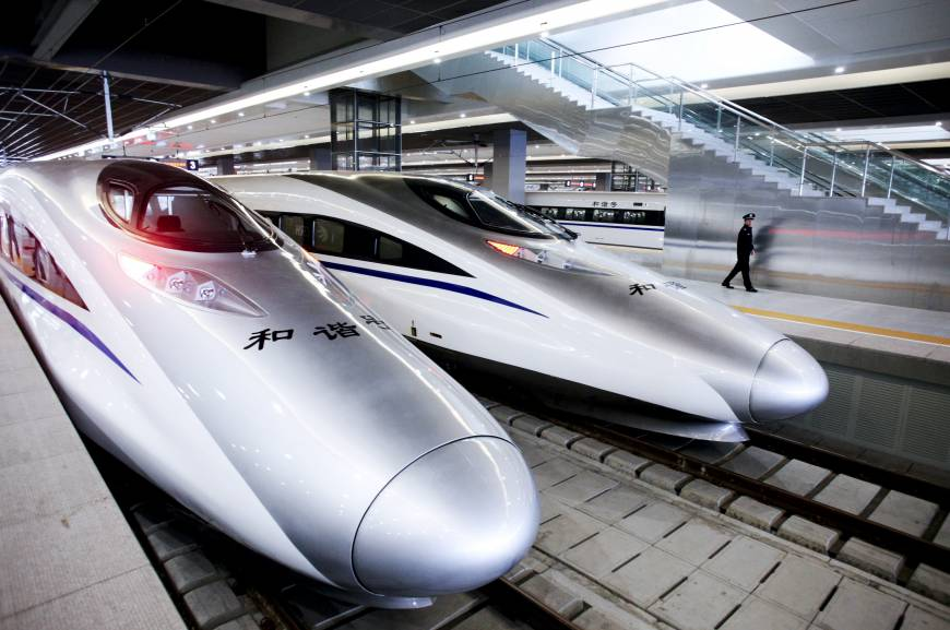 چین سے جلد ہی چلے گی ملیشیا تک بلٹ ٹرین