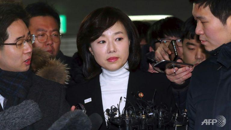 جنوبی کوریا کی وزیر ثقافت گرفتار
