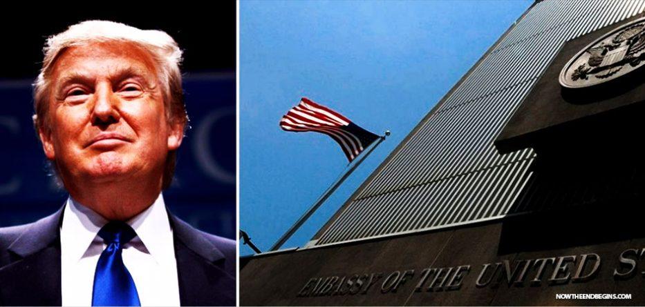 سفارتخانہ فوری  منتقلی سے   ڈونلڈ ٹرمپ  کا انکار