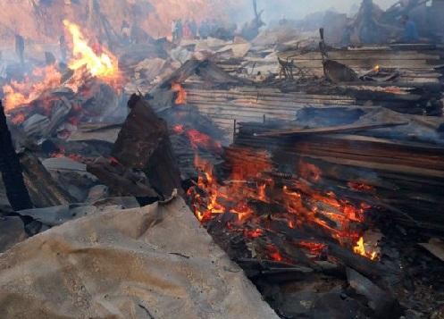 نیروبی میں آتشزدگی، 15 افراد کے ہلاک ،58زخمی