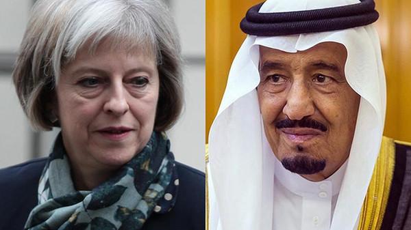 سعودی عرب دہشت گردی کے مقابلے میں برطانیہ کے ساتھ ہے