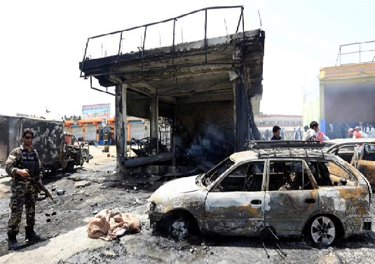 افغانستان کے شہر جلال آباد میں خودکش دھماکہ ،10افرادہلاک