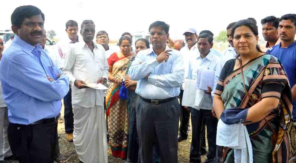 نظام آباد کو پائیلٹ پراجیکٹ کے طور پر اہمیت دئیے جانے والے بھو بھارتی سروے کے کاموں کی عاجلانہ تکمیل