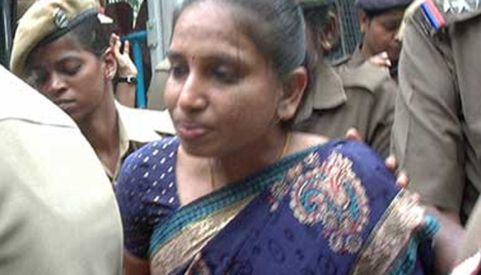 راجیو گاندھی قتل: نلنی کو باپ کے آخری رسومات میں شامل ہونے کے لئے پیرول ملی