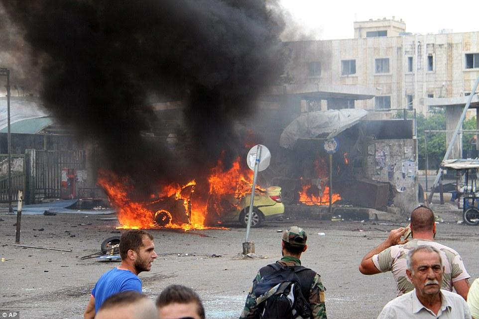 شام میں کار بم دھماکہ،  افراد20 ہلاک