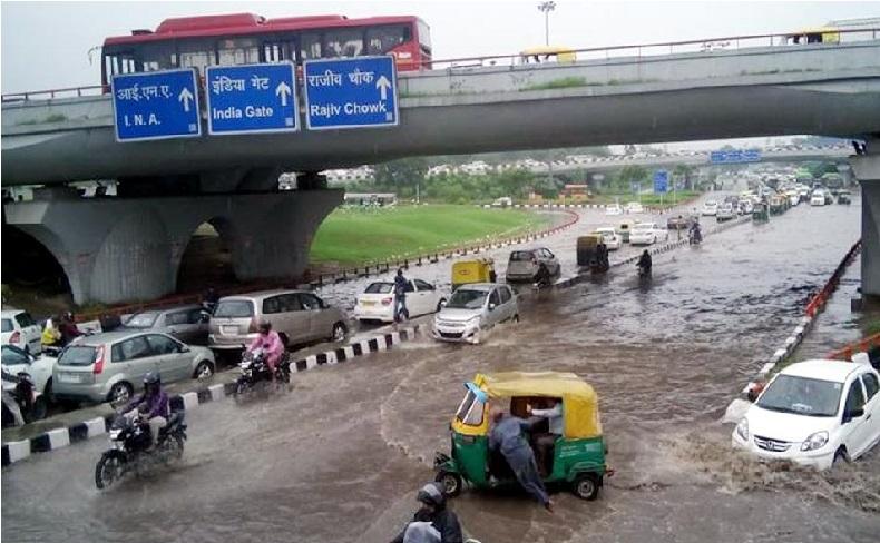 اگلے 72 گھنٹے دہلی میں زبردست بارش کا الرٹ جاری:محکمہ موسمیات