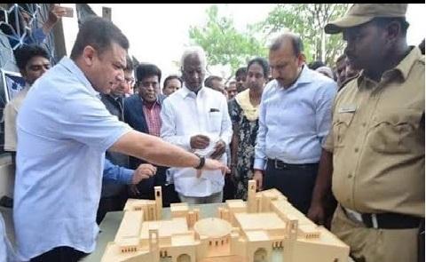 فلک نما میں ریاست کا پہلا ماڈل کے جی تا پی جی کیمپس:کڈیم سری ہری