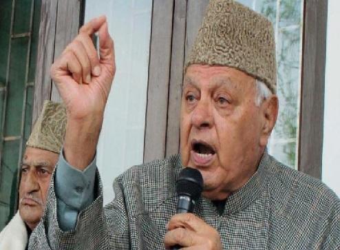 کشمیر میں امن کیلئے پاکستان سے مذاکرات ضروری: فاروق عبداللہ