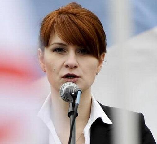 روس کیلئے جاسوسی کرنے والی ماریا بوٹينا کو جیل امریکہ میں جیل