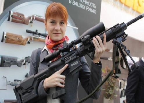"""امریکہ میں روسی خاتون """"ایجنٹ"""" گرفتار"""