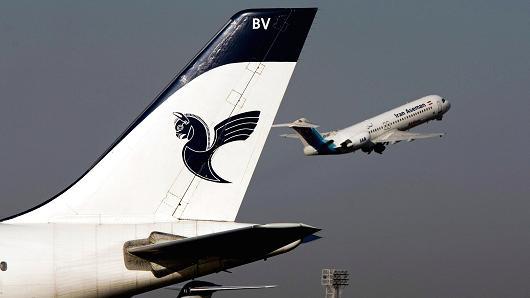 ایران طیارہ حادثہ میں 66 مسافر وں کے ہلاک ہونے کا اندیشہ
