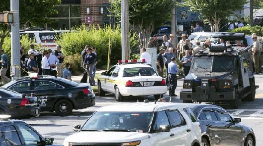 میری لینڈ کے کیپیٹل گزٹ نیوز پیپر کے دفتر پر حملہ : 5 کی موت