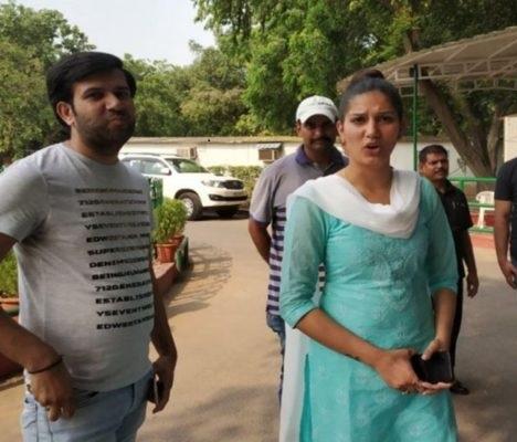 ڈانسر سپنا چودھری کی سیاست میں انٹری