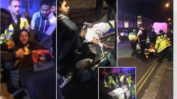 برطانیہ : مسجد کے سامنے کار کی ٹکر سے تین افراد زخمی