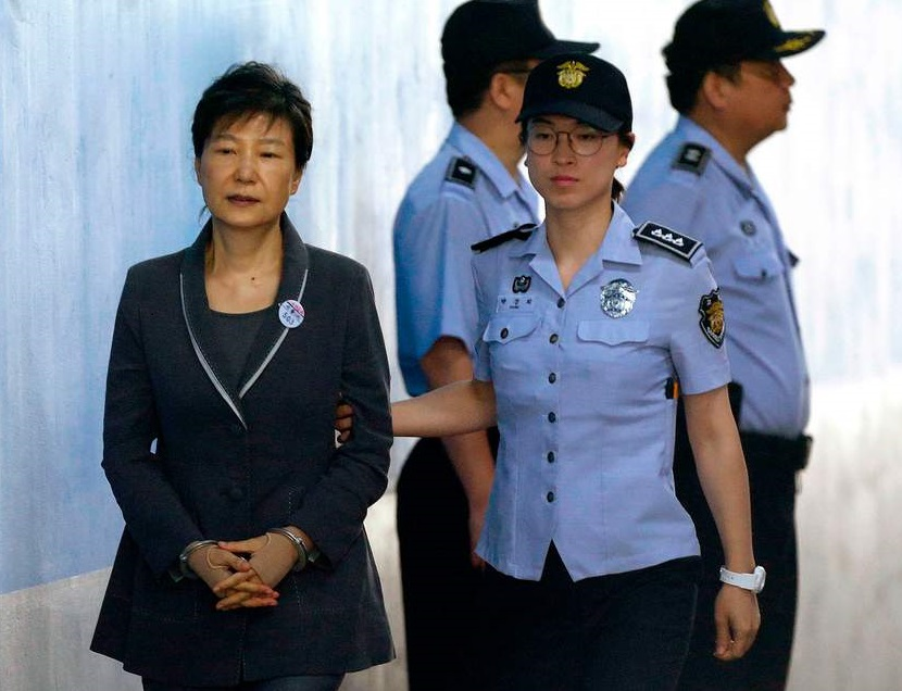 جنوبی کوریا کی سابق صدر پارک گُن کو مزید 8 برس قید کی سزا