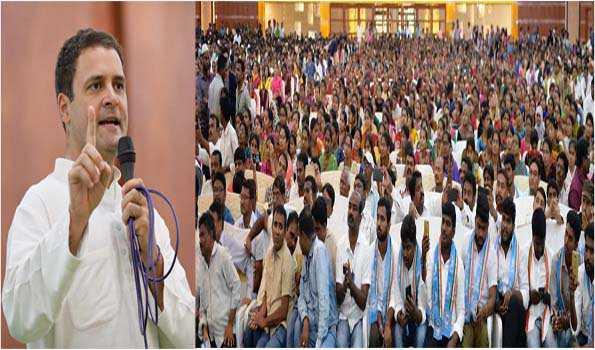 کانگریس تمام مذاہب کی خوشحالی والا ہندوستان چاہتی ہے:راہل گاندھی