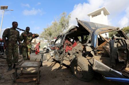 افریقی ملک صومالیہ کے دارالحکومت میں کار بم حملہ 3ہلاک