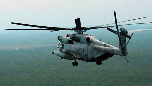 اڑان بھرنے کے کچھ ہی دیر میں ایئر فورس کا ہیلی کاپٹر کی ہنگامی لینڈنگ