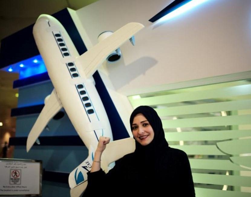 کار کے بعد ہوائی جہاز چلائیں گی سعودی خواتین