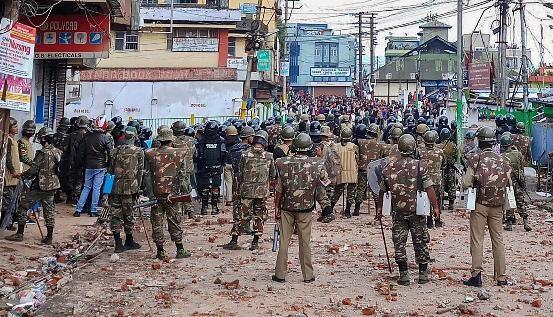 شیلانگ تشدد: مرکز نے نیم فوجی دستوں کی گیارہ کمپنیاں بھیجیں