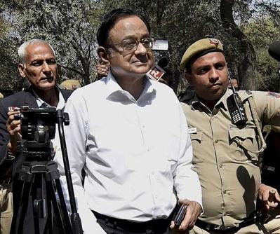 انیکس میڈیا کیس: سی بی آئی نے پوچھ تاچھ کے لی پی چدمبرم کو 6 جون کو طلب کیا