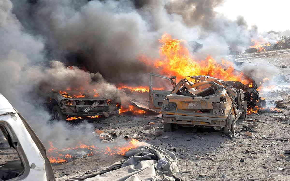شام میں کار بم دھماک میں پانچ ہلاک