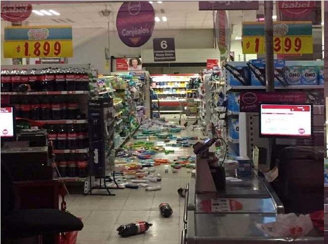 مشرق چلی میں 6.9 کی شدت کا زلزلہ، کوئی نقصان نہیں