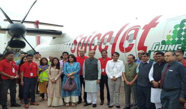 ملک میں پہلی مرتبہ بائیو ایندھن سے طیارہ نے کامیاب پرواز بھری