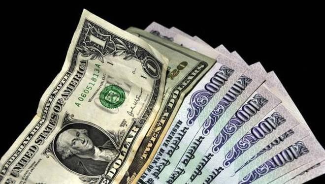 ابتدائی تجارت میں ڈالر کے مقابلے روپیہ آج تین پیسے کمزور