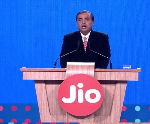 جیو فائبر: ریلائنس جیو 500 روپے میں دے سکتا ہے 100GB ڈاٹا- میڈیا رپورٹیں