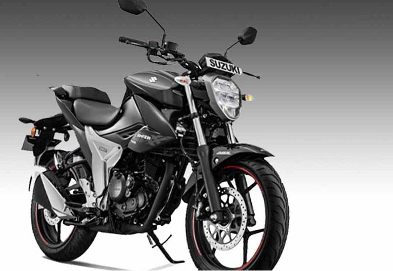 سوزوکی نے لانچ کی نئی GIXXER موٹر سائیکل