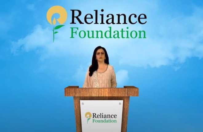 کووڈ مریضوں کو ریلائنس فاونڈیشن 875 بسترمفت فراہم کرے گا:نیتا امبانی
