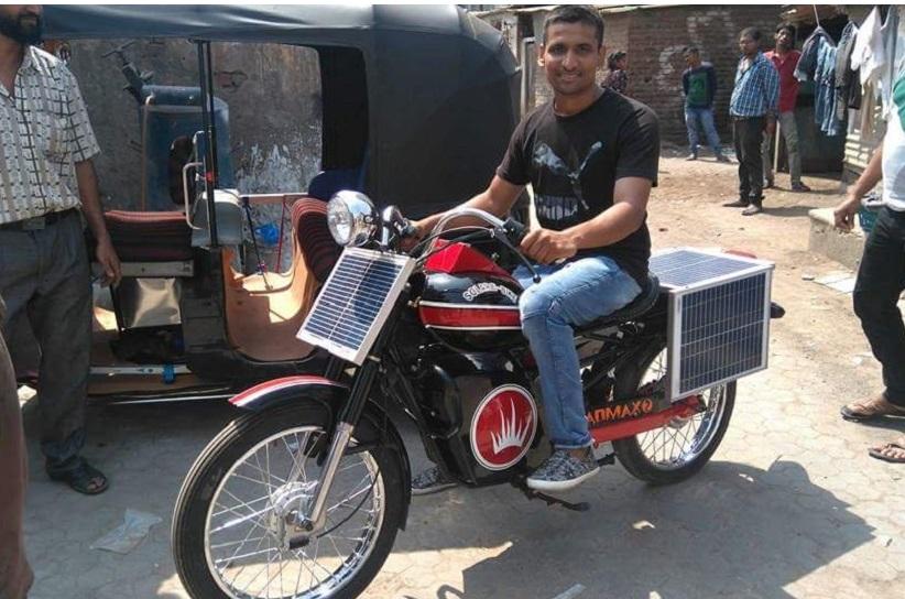آنند مہندرا نے ٹیوٹ کیا پٹرول -ڈیزل کے بغیر مفت میں چلنے والی بائیک