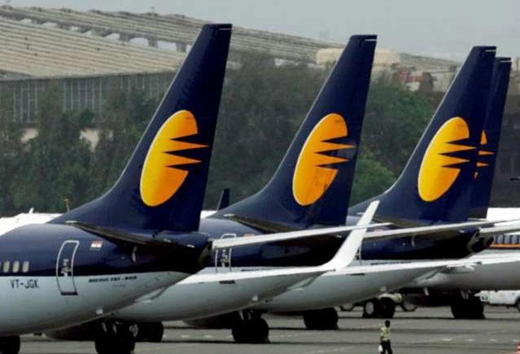جیٹ ایئر ویز کے جہازوں کی تعداد کم ہوکر 28 رہ گئی