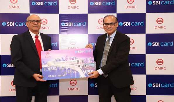 دہلی میٹرو۔'ایس بی آئی کارڈ' کا آغاز