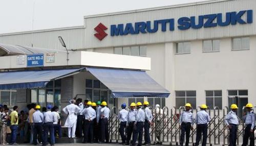 ماروتی نے گڑگاؤں اور مانیسر کی فیکٹریوں میں کام روکا