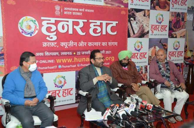 ہنر ہاٹ نے پانچ لاکھ ہنرمندوں کو دلائے روزگار کے مواقع: نقوی