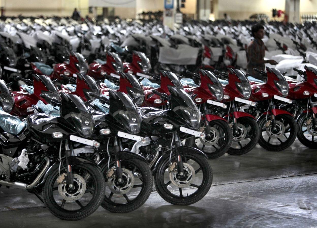 بجاج کے دوپہیہ گاڑیوں کی فروخت میں 84 فیصد کا اضافہ