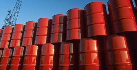 خام تیل کی بین الاقوامی قیمت