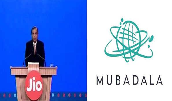 ابوظہبی کی 'مبادلہ' کاریلائنس جیو پلیٹ فارمزمیں9093.60 کروڑروپے کی سرمایہ کاری کا اعلان