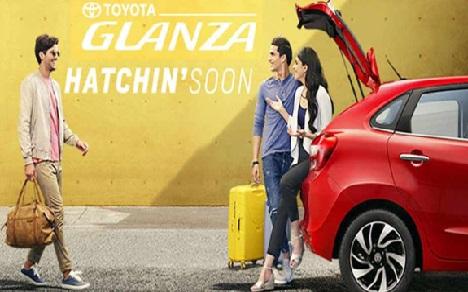 جون میں لانچ ہوگی ٹویوٹا کی نئی کار GLANZA، ماروتی کی کار کو دے گی ٹکر