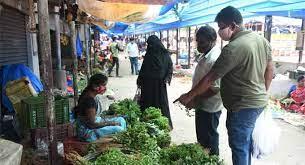 حیدرآباد میں سبزیوں کی قیمتیں مستحکم