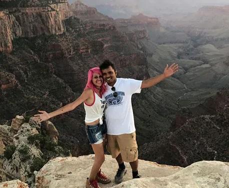 امریکہ: 800 فٹ اونچے پہاڑ سے نیچے گرا ہندوستانی جوڑا، دنیا کی ہر جگہ گھومنا تھا خواب