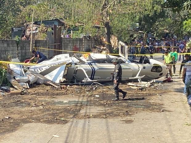 فلپائن میں ہیلی کاپٹر گر کر تباہ، ایک شخص کی موت، تین زخمی