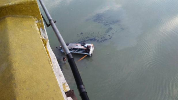 راجستھان کے سوائی مادھپور میں مسافروں سے بھری بس بناس دریا میں گری، 30 افراد ہلاک